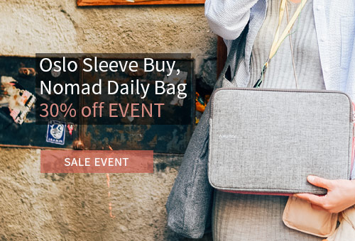 Oslo Pouch Buy, Nomad Daily Bag 30% off
